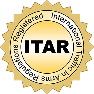 ITAR Registered and Compliant