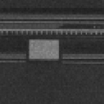 Close-Up of Image with High Gain