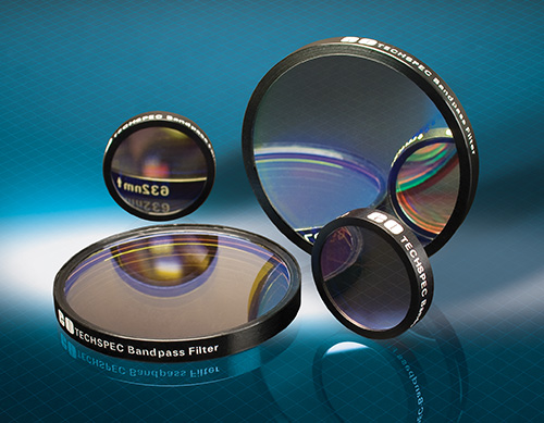 Hard Coated OD 4 10nm Bandpass Filters